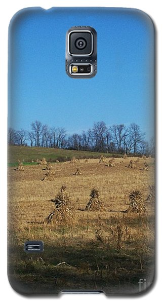 Galaxy S5 Case featuring the photograph Farm Days by Sara  Raber