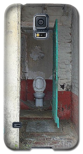Galaxy S5 Case featuring the photograph Farm Facilities by HEVi FineArt