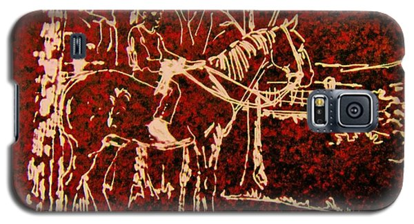 Farm Horse Galaxy S5 Case by Larry Campbell
