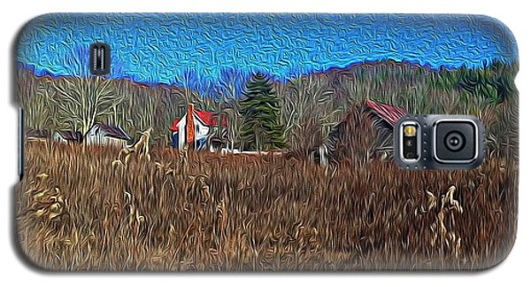 Farm House 2 Galaxy S5 Case by Tom Culver