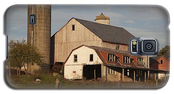 Farm House At Sundown Galaxy S5 Case