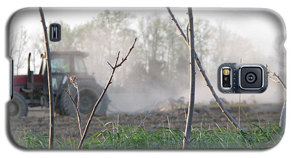 Galaxy S5 Case featuring the photograph Farm Life  by Michael Krek
