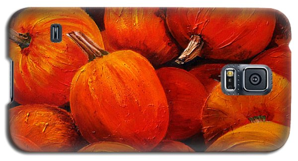 Farm Market Pumpkins Galaxy S5 Case