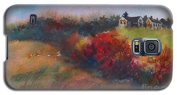 Farm On The Hill At Sunset Galaxy S5 Case