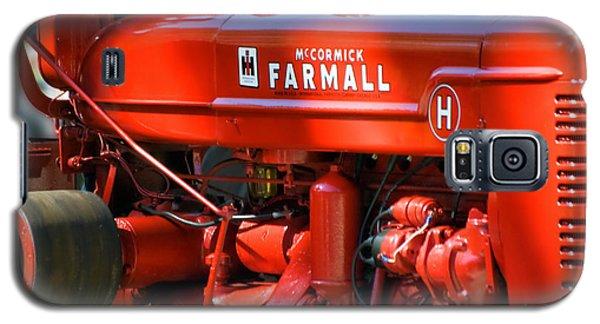 Farm Tractor 11 Galaxy S5 Case by Thomas Woolworth