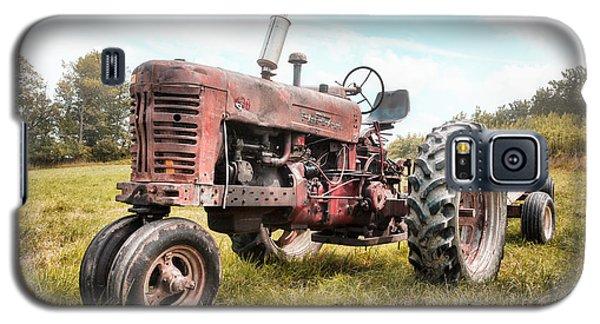 Farmall Tractor Dream - Farm Machinary - Industrial Decor Galaxy S5 Case