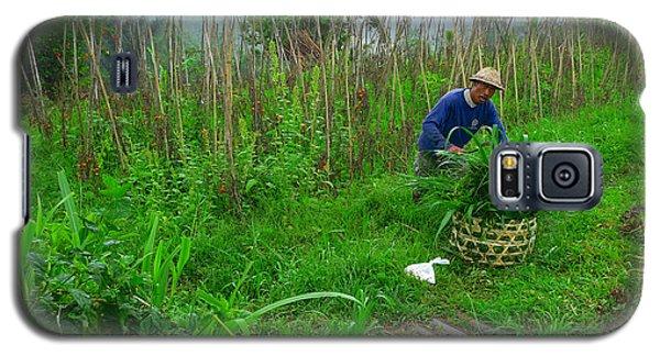 Farmer In Bali Galaxy S5 Case