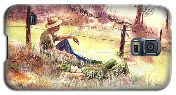 Farmers And Hunters Heaven Galaxy S5 Case
