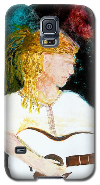 Galaxy S5 Case featuring the painting Farmers Daughter by Keith Thue