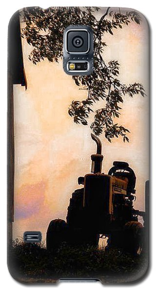 Farmers Sunset Galaxy S5 Case