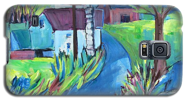 Farmhouse In Spring Again Galaxy S5 Case