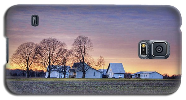 Farmstead At Sunset Galaxy S5 Case