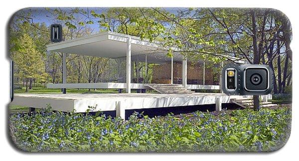 Farnsworth House Illinois Galaxy S5 Case by Martin Konopacki