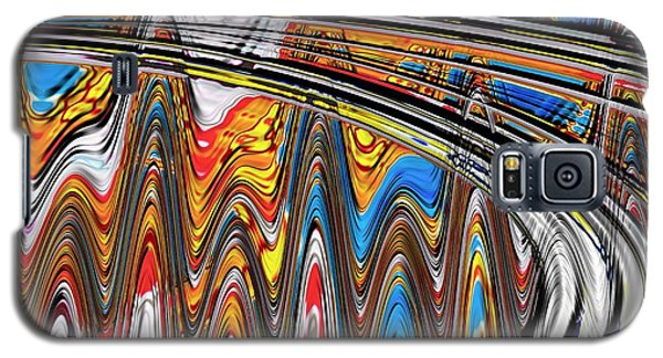 Highway To Nowhere Abstract Galaxy S5 Case