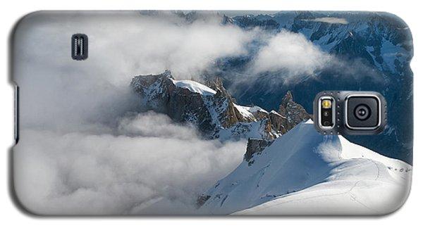 Fascinating Alpine World Chamonix Galaxy S5 Case by Juergen Klust
