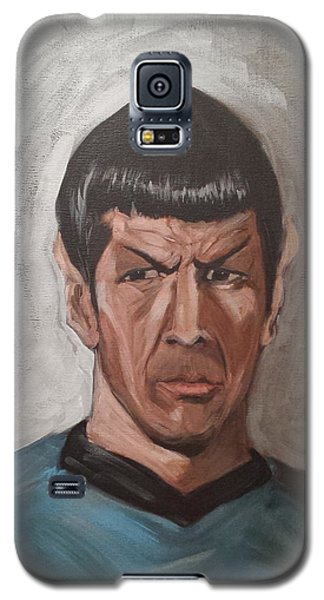 Galaxy S5 Case featuring the painting Fascinating by Tu-Kwon Thomas
