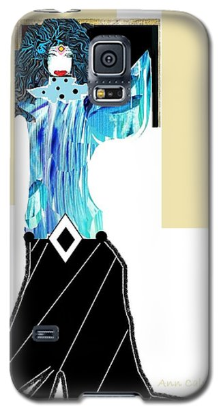 Fashion Angel Galaxy S5 Case by Ann Calvo