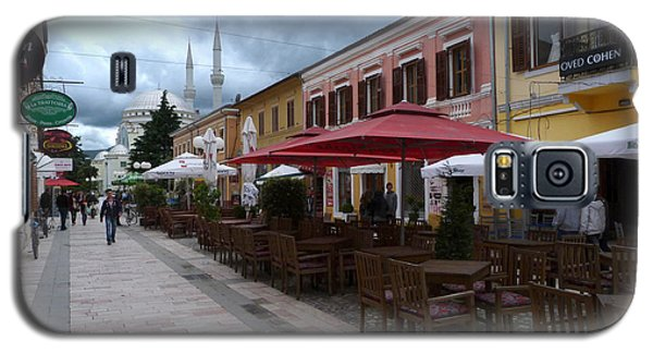 Fashion Cafes And Mosque - Shkoder Galaxy S5 Case