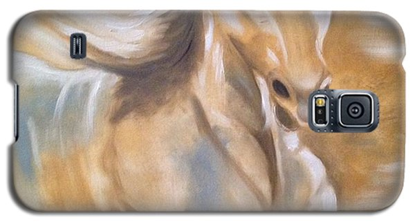 Galaxy S5 Case featuring the painting Fast And Fascinating by Brindha Naveen