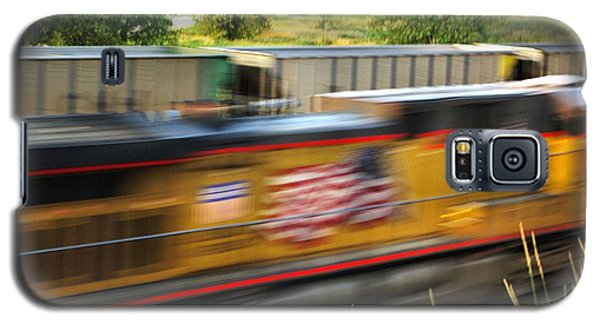Galaxy S5 Case featuring the photograph Fast Train by Bill Kesler