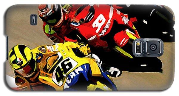 Faster  Valentino Rossi Nicky Hayden Galaxy S5 Case