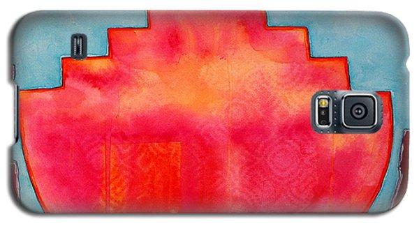 Fat Sunrise Original Painting Galaxy S5 Case
