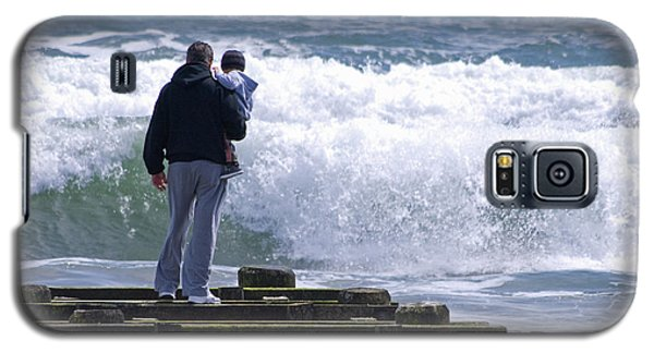 Galaxy S5 Case featuring the photograph Father And Son by Greg Graham