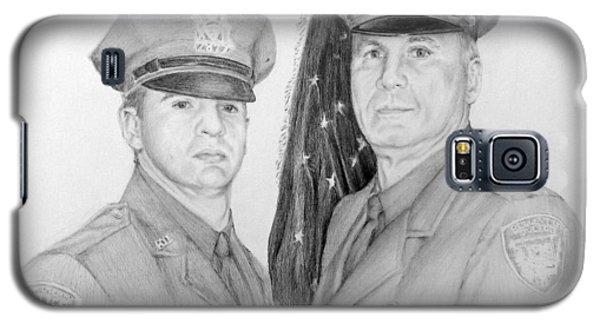 Father And Son Galaxy S5 Case by Lori Ippolito
