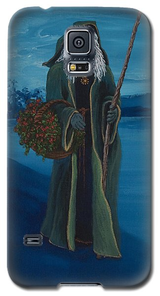 Father Christmas Galaxy S5 Case by Darice Machel McGuire