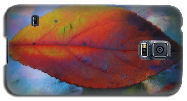 Fauvist Hydrangea Leaf Galaxy S5 Case