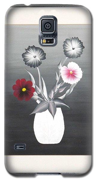 Faux Flowers II Galaxy S5 Case by Ron Davidson