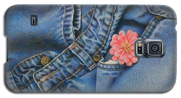 Favorite Jeans Galaxy S5 Case by Pamela Clements