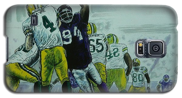 Favre Vs The Vikes Galaxy S5 Case