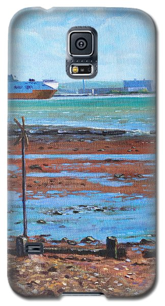 Fawley Power Station From Weston Shore Hampshire Galaxy S5 Case
