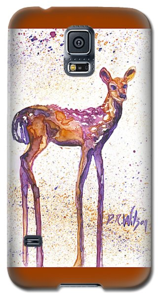 Fawn Rising Galaxy S5 Case by D Renee Wilson