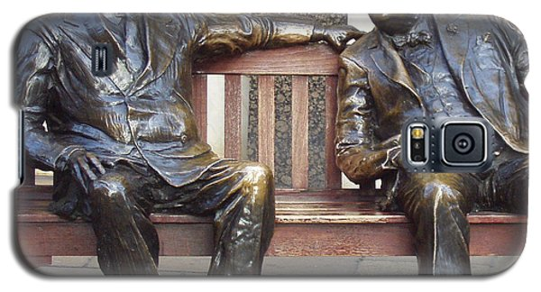 Fdr And Churchill Having A Chat In London Galaxy S5 Case