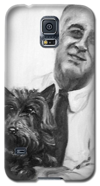 Fdr And Fala  Galaxy S5 Case