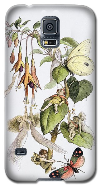 Elf Galaxy S5 Case - Feasting And Fun Among The Fuschias by Richard Doyle