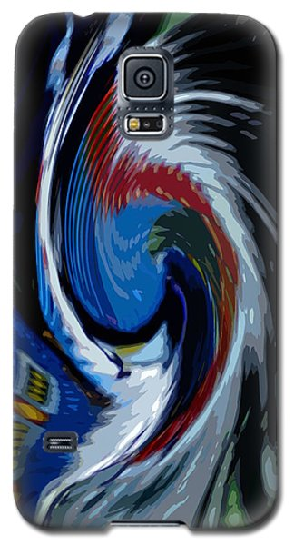 Feather Whirl Galaxy S5 Case by Randy Pollard