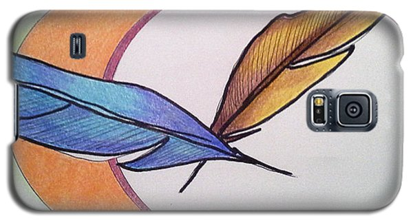 Feathers Galaxy S5 Case