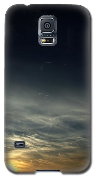 Feathery Clouds Galaxy S5 Case