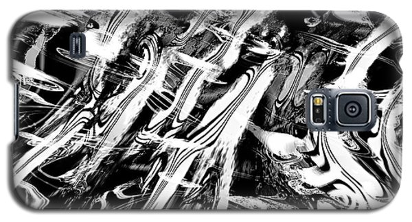 Black And White Abstract Galaxy S5 Case