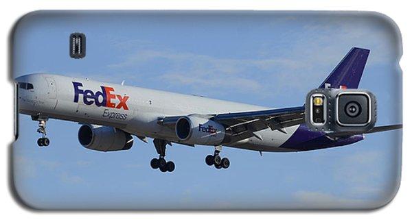 Fedex Express Boeing 757-224 N942fd Phoenix Sky Harbor February 24 2015 Galaxy S5 Case