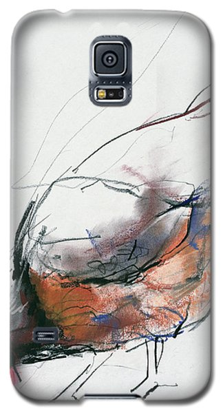 Feeding Hen, Trasierra Galaxy S5 Case by Mark Adlington