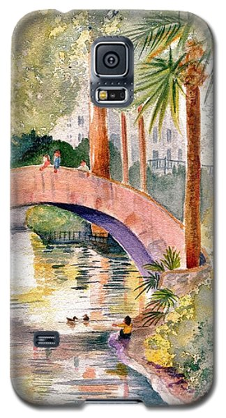 Feeding The Ducks Galaxy S5 Case
