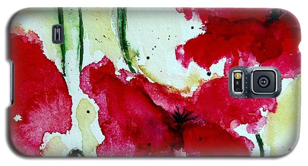 Feel The Summer 2 - Poppies Galaxy S5 Case