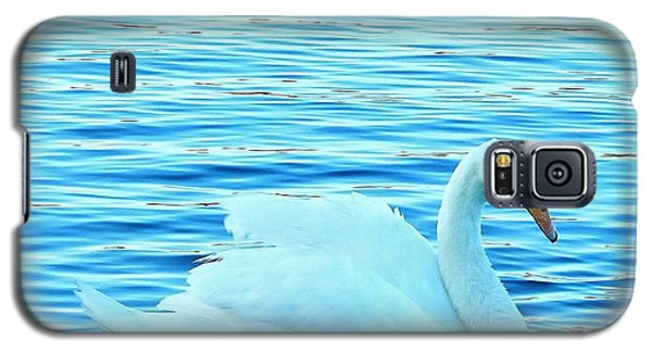 Feeling Blue Galaxy S5 Case by Katy Mei