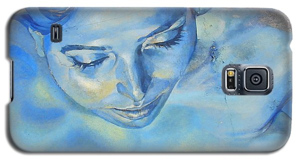 Galaxy S5 Case featuring the photograph Feeling Blue by Ramona Johnston
