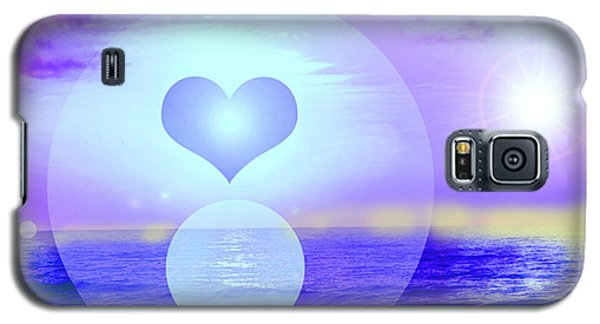 Galaxy S5 Case featuring the digital art Feeling Heart by Ute Posegga-Rudel
