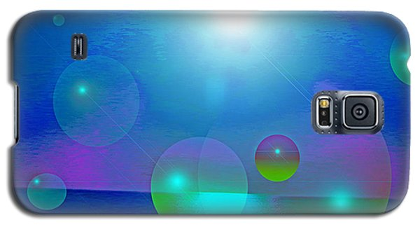 Galaxy S5 Case featuring the digital art Feeling Of Being by Ute Posegga-Rudel